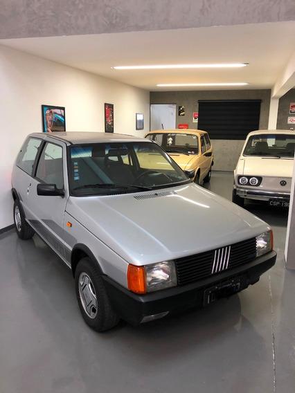 Fiat Uno 1.5 R 1989 Placa Preta Impecável.