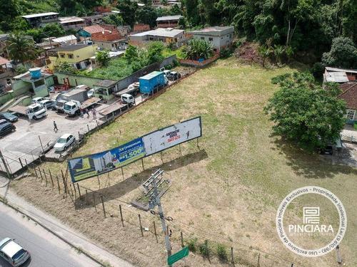 Terreno Para Alugar, 3000 M² Por R$ 3.000,00/mês - Baldeador - Niterói/rj - Te0015
