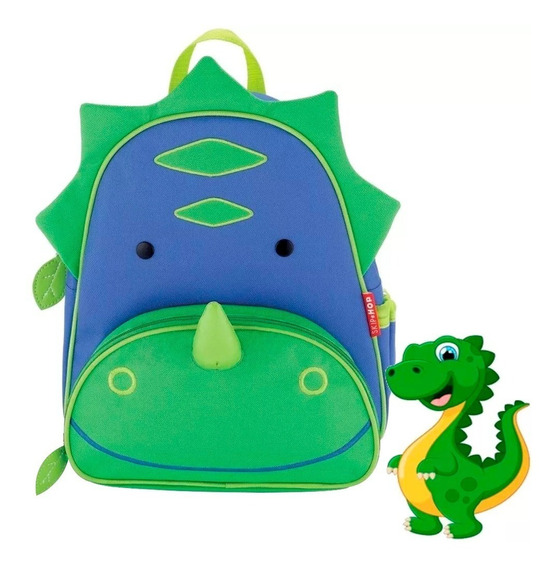 Mochila Skip Hop Infantil Dinosaurio Original Cód 210214