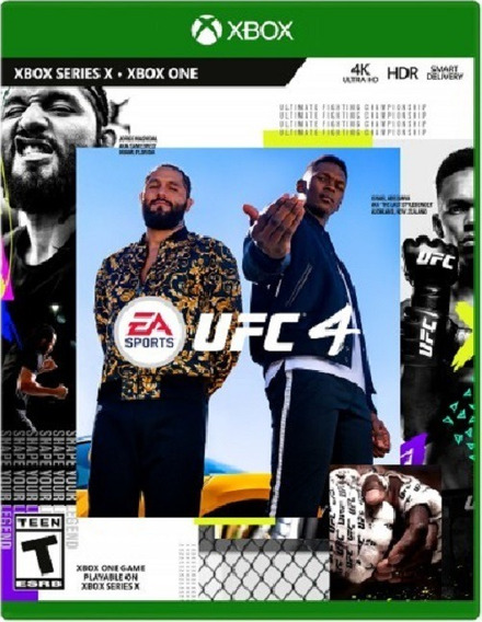 Ufc 4 + Brinde - Xbox One - Digital