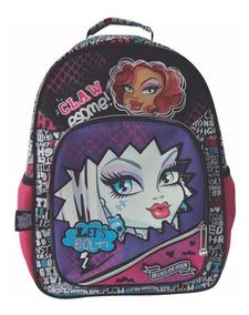 Mochila Espalda Monster High 16 Pulg Orig Dm410 Mundo Manias