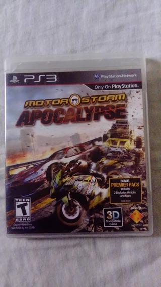 Motor Storm Apocalypse - Ps3 - Física Classico Barato