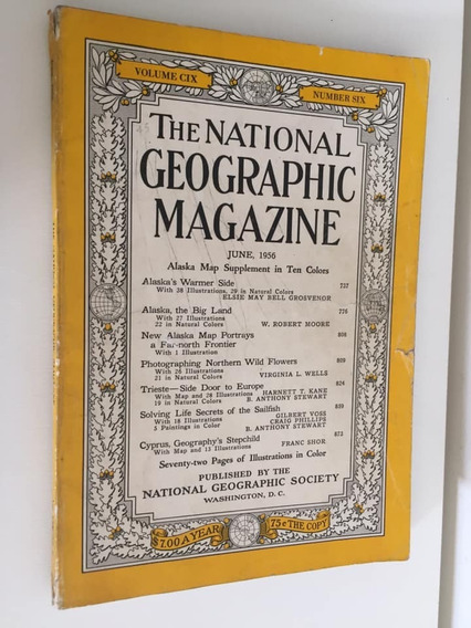 The National Geographic Magazine - Junho 1956