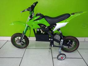 Mini Moto Cross Elétrica 24 Volts Semi Nova