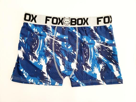 Kit 50 Cuecas Boxer Fox Box Microfibra Atacado Promoção!