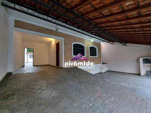 Casa Com 4 Dormitórios À Venda, 183 M² Por R$ 650.000,00 - Bosque Dos Eucaliptos - São José Dos Campos/sp - Ca6125