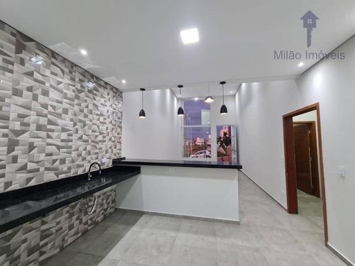 Casa Com 3 Dormitórios À Venda, 135 M² Por R$ 620.000 - Campos Do Conde - Cajuru Do Sul - Sorocaba/sp - Ca0517