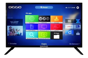 Led Diggio 40¨ Smart Tv Full Hd Android 1200 Canales Gratis