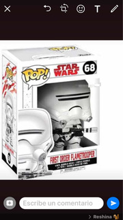 Funko Pop Star WarsOriginal. Flametrooper. 68.
