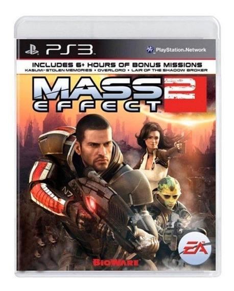 Mass Effect 2 Ps3 Mídia Física Pronta Entrega