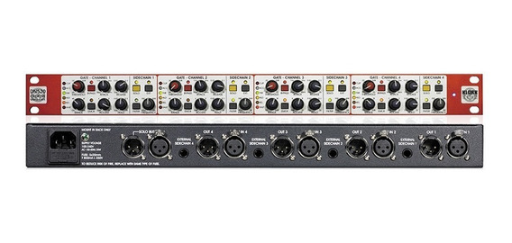 Noise Gate Klark Teknik 4 Canais Dn530 Outlet Imperdível.