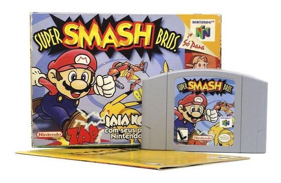 Super Smash Bros N64 Mídia Física Pronta Entrega