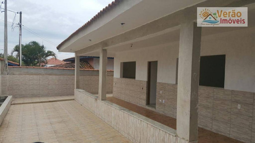 Imagem 1 de 16 de Casa Com 3 Dormitórios À Venda, 160 M² Por R$ 560.000,00 - Praia Do Sonho - Itanhaém/sp - Ca0320