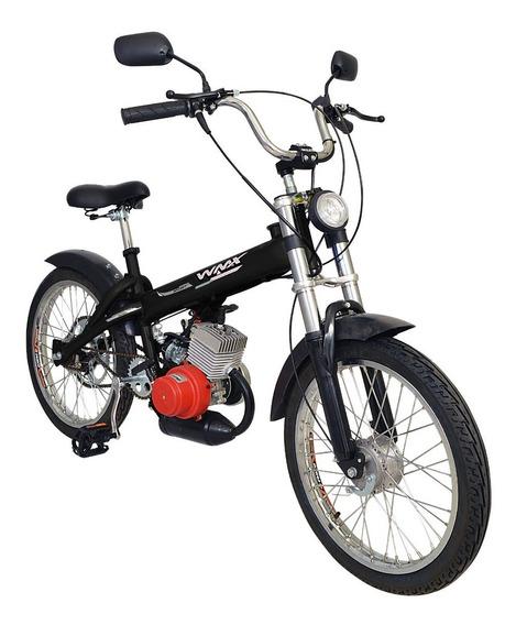Bicicleta Motorizada Wmx Sport Mobilete 40cc Bikelete Aro 17