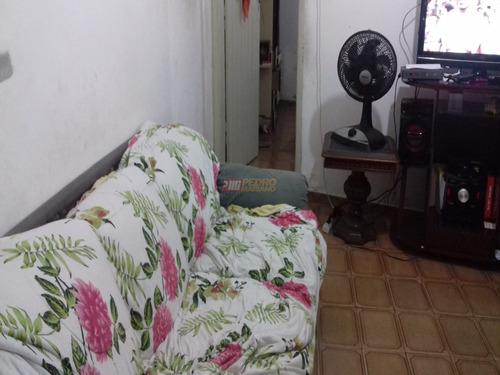Casa Terrea No Bairro Vila Sacadura Cabral Em Santo Andre Com 02 Dormitorios - V-29359