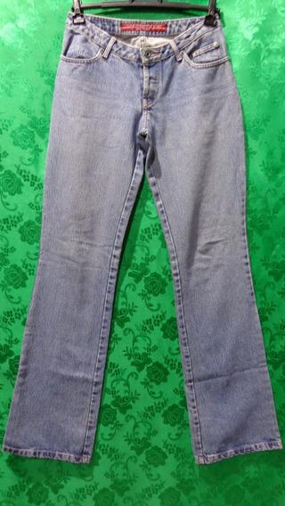 Calça Jeans Feminina Cós Baixo Marca Ellus Tm/34