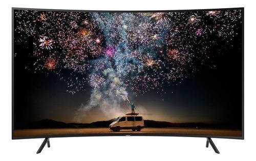 """Imagen 1 de 5 de Smart TV Samsung Series 7 UN55RU7300FXZX LED curvo 4K 55"""" 110V - 127V"""