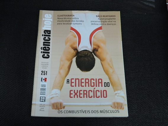 Revista Ciência Hoje 42 Energia Do Exercício