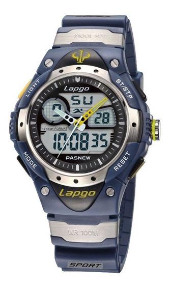Relógio Esportivo Masculino Lapgo Pasnew - Prova D