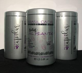 Botox Alisante Brasil Cacau 1lt, Plastica Capilar Keratina