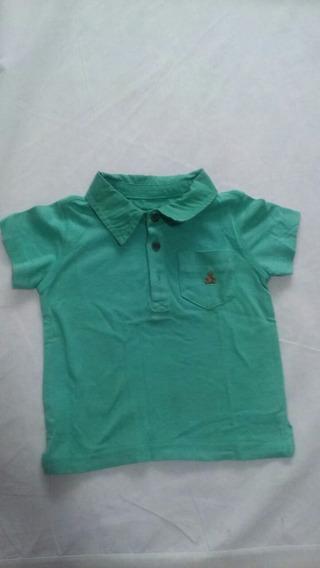 Camisa Gap Verde Tamanho 12/18 Meses