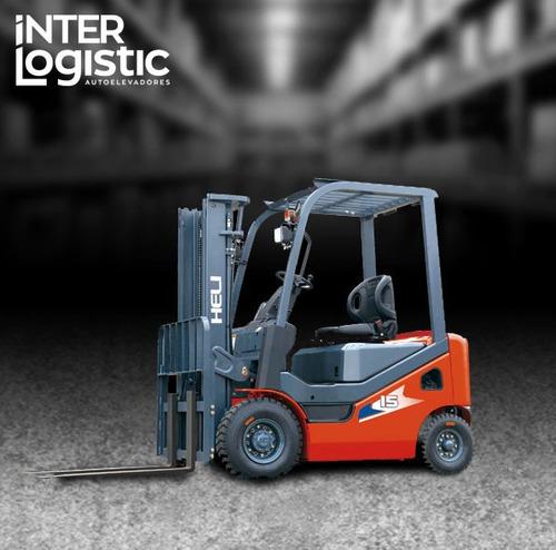 Autoelevador Heli Interlogistic Diesel 1500 Kg Nuevo 0 Km