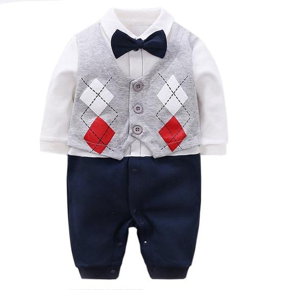 Bebé Niño Conjunto Traje Formal Camisa Moño Tirante Pantalón