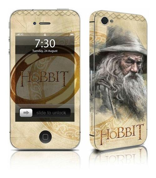 Adesivo Para Celular The Hobbit Gandalf - Para iPhone 4