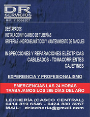 Servicios De Plomeria Y Electricidad En Lechería 24 Horas