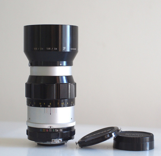 Lente Nikon, Nikkor Q - Ai, 135mm -sony-canon- Micro4\3