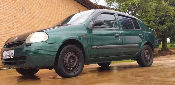 Renault Clio Sedã, Fipe R$ 10.500,00 Esta Por R$ 7000,00