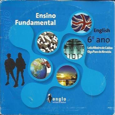 6 Cds Material Anglo De Ensino De Inglês (cd-roms De Áudio)