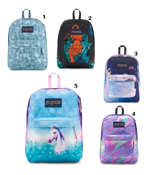 Mochila Jansport High Stakes Estampados Originales.