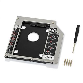 Caddy 9,5mm Segundo Disco Sata Notebook Lenovo, Toshiba, Hp