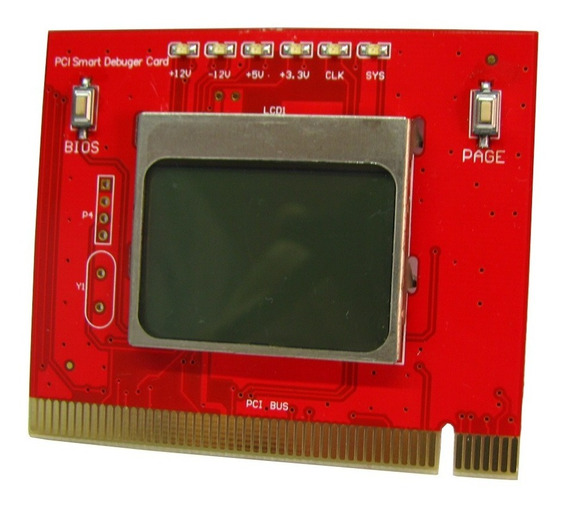 Placa De Diagnostico, Post Card + Lcd, Tester Para Mother