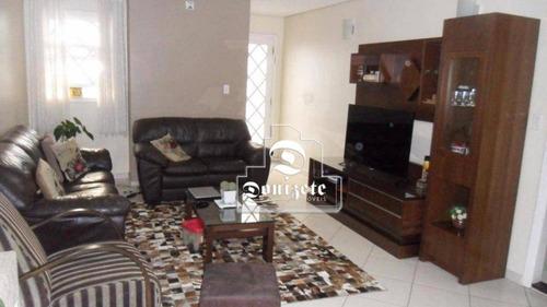 Casa Com 3 Dormitórios À Venda, 230 M² Por R$ 1.149.000,00 - Centro - Santo André/sp - Ca0997