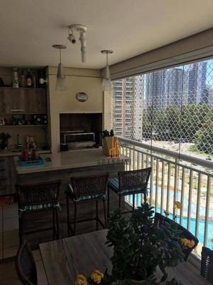 Apartamento Com 3 Dormitórios À Venda, 123 M² Por R$ 805.000 - Centro - São Bernardo Do Campo/sp - Ap1277
