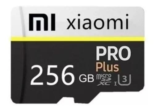 Micro Sd Card 256gb Pro Plus Xiaomi + Adaptador Usb