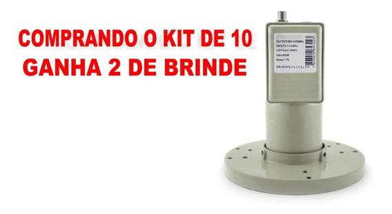 10 Lnbf Multiponto Banda C Com Filtro Wi-max Lm20 Promoção