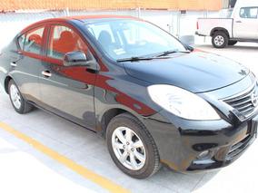 Nissan Versa Advance At 2012 Negro Con Garantia De Agencia