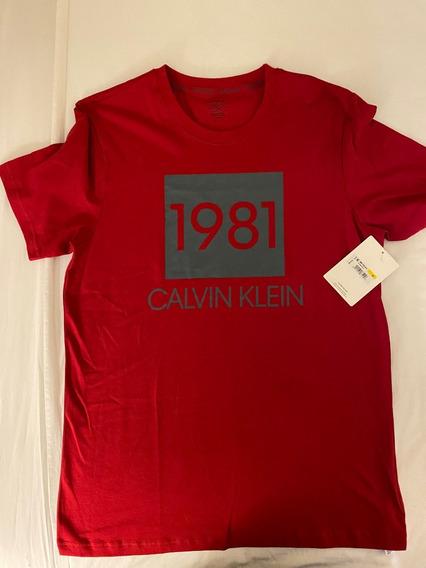 Remera Hombre Calvin Klein Original Usa