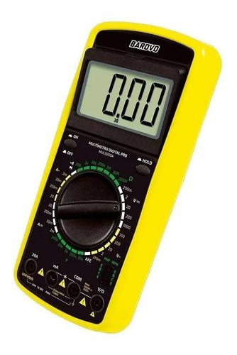 Multimetro Digital Tester Udovo Ac Dc Data Hold Display Led
