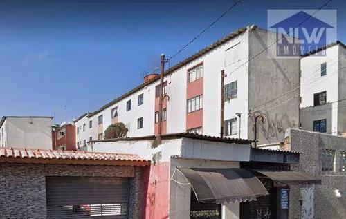 Apartamento Com 2 Dormitórios À Venda, 49 M² Por R$ 90.000,00 - Conjunto Habitacional Santa Etelvina Ii - São Paulo/sp - Ap2392