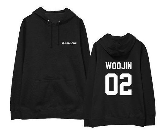 Moletom Canguru K-pop Wanna One Woojin 02