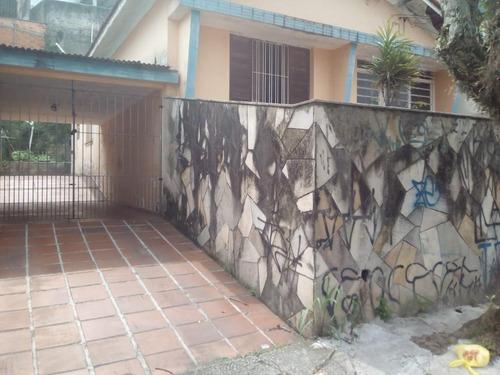 Casa Com 2 Dormitórios, 130 M² - Venda  Ou Aluguel - Centro - São Bernardo Do Campo/sp - Ca10321
