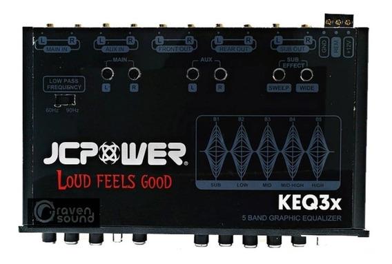 Ecualizador Con Epicentro 3 En 1 5 Bandas Keq3x Jcpower