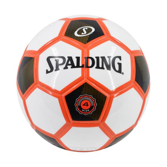 Pelota Futbolito Blanco Con Negro Y Naranjo - Spalding