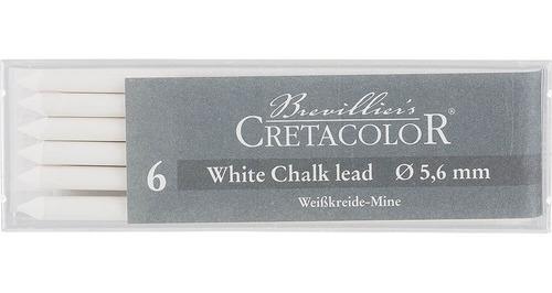 Imagen 1 de 2 de Minas Cretacolor 5.6mm Blanca