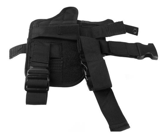 Ao Ar Livre Caça Tático Puttee Coxa Perna Pistola Coldre