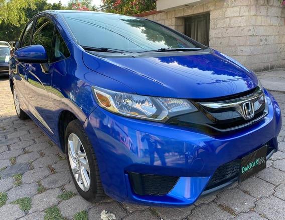 Honda Fit Azul Fun 2017 Std. Dakkar Autos